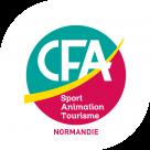 Logo CFA Sport Animation Tourisme Normandie